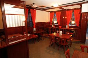 Innenraum Der Gaststätte ...